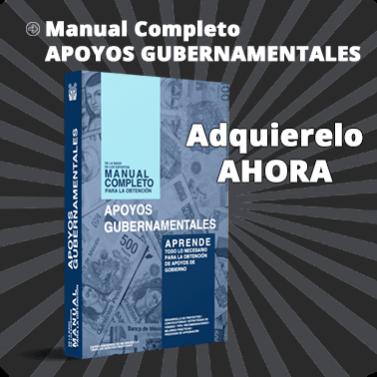 Manual Completo para la Obtención de Apoyos Gubernamentales